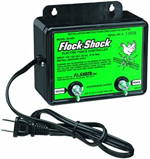 Fi-Shock SS-600 AC Powered  1 Mile Electric Poultry Fence Charger
