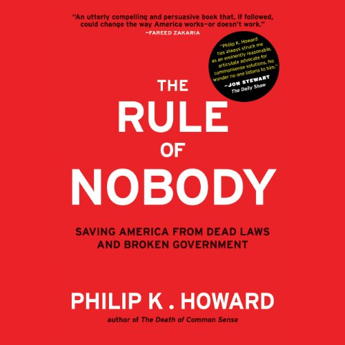 The Rule of Nobody audiobook cover art