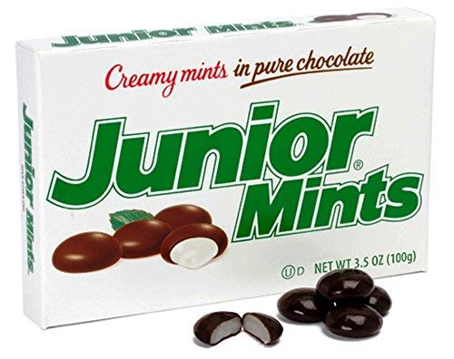 Junior Mints Junior Mints Theatre Box 3.5 Ounce Box (Pack of 12)