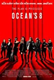OCEAN'S 8 – Sandra Bullock – U.S Movie Wall Poster