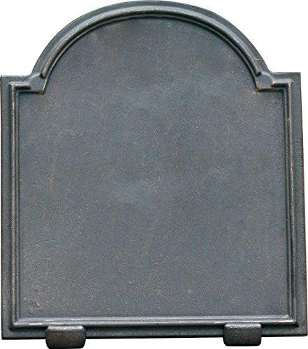 Lunaway Kaminplatte Ofenplatte für Kamin aus Gusseisen - Deco   Maße: 60x60 cm Dicke: 1,2 cm