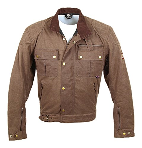 Bores Trophy Pro 1 Classic Cire Veste Veste Textile Taille : moka, Taille 6 X L