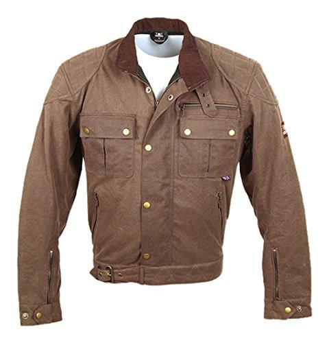 Bores Trophy Pro 1Classic Cera Chaqueta Textil chaqueta tamaño: Moca, Tamaño...