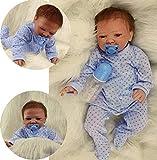 ZIYIUI Muñecas Reborn 19 Pulgadas /50 cm Reborn Niño Suave Silicona Realista Recien Nacidos Reborn Toddlers Regalo de Crecimiento Infantil(EN71) Muñecos Bebé