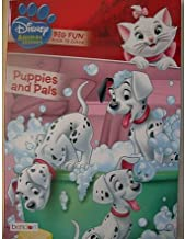 Disney Animal Friends Big Fun Book to Color - Puppies And Pals