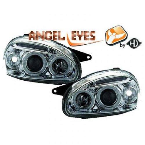 Design Scheinwerfersatz Angel Eyes Opel Corsa Typ B BJ 02/93 - 10/00