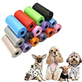 YINGBO 15 Rollen Hundekotbeutel Hauskotbeutel, 15 Rollen, abbaubar und umweltfreundlich,...