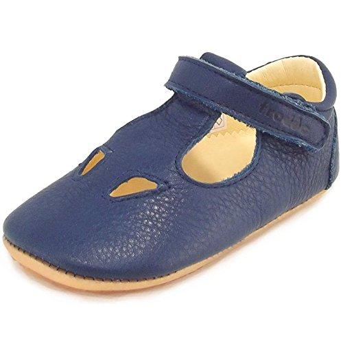 Froddo Prewalkers G1130006 G1130006 Baby Halbsandale, dunkelblau (Dark Blue), Gr. 18