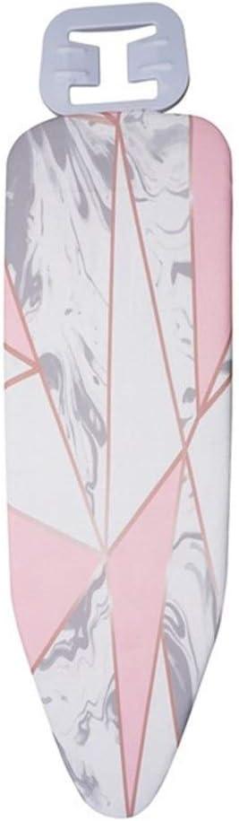 Mrjg Cubierta de la Placa de Planchado Easy Fit práctica Exquisito Protectora Resistente al Calor Inicio Impreso hermético al Polvo Lavable Marbling (Color : 3)