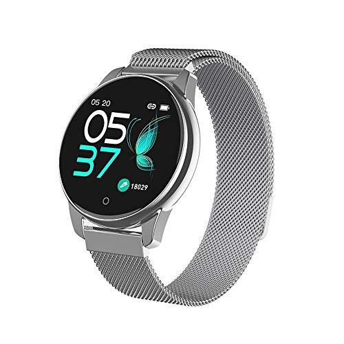 YZY Smart-armband, activiteitstracker, IP67, waterdicht, fysica-vorm met slaapmonitor, hartslag, dunne horlogeband voor dames en heren