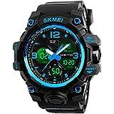Analog Mens Digital Watch, Waterproof Military...