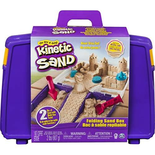 Kinetic Sand Valigetta Sempre con Te, 900 gr di Sabbia Modellabile, dai 3 Anni , 6037447
