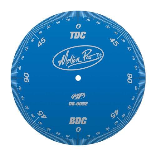 Motion Pro 08-0092 Anodized Blue Degree Wheel