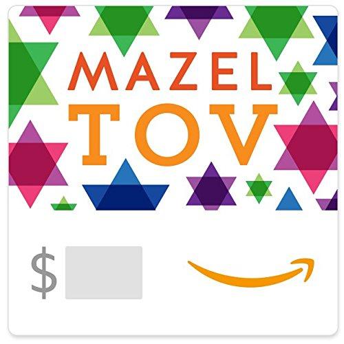 Amazon eGift Card - Mazel Tov Stars