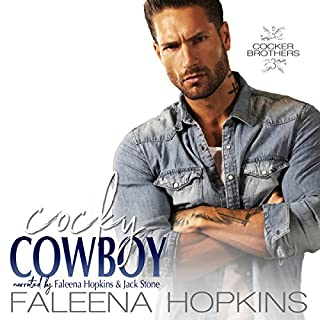 Cocky Cowboy: Jaxson Cocker audiobook cover art