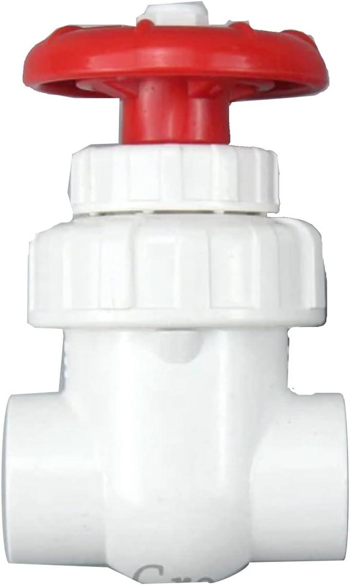 online shopping Plastic Mail order tube 1pc I.D 20 25 32 Gate Precision Flo UPVC Valve 40mm