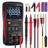 Neoteck True RMS Digital Multimeter Button Design 9999 Counts with Analog Bargraph NCV
