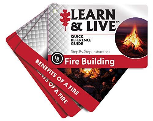 UST Conjunto de cartas educativas para aprender e viver, construção de fogo