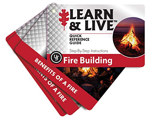 ULTIMATE SURVIVAL TECHNOLOGIES FIRE BUILDING SURVIVAL CARD