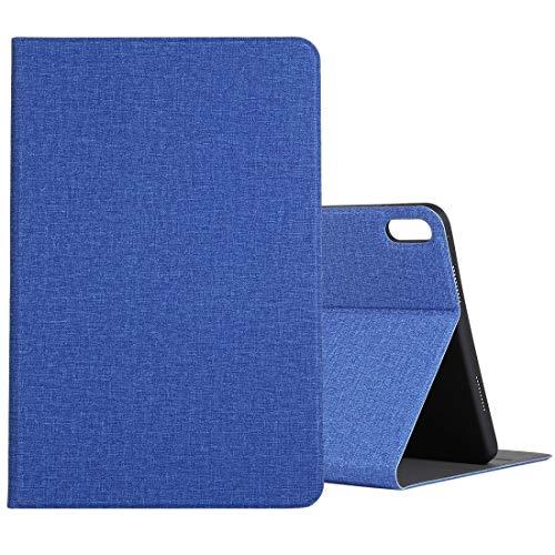 BEIJING  PROTECTIVECOVER+ / for Compatible with Huawei Matepad 10.4 Paño TPU Funda Protectora con Titular, Fashion Phone Funda para Protector (Color : Dark Blue)