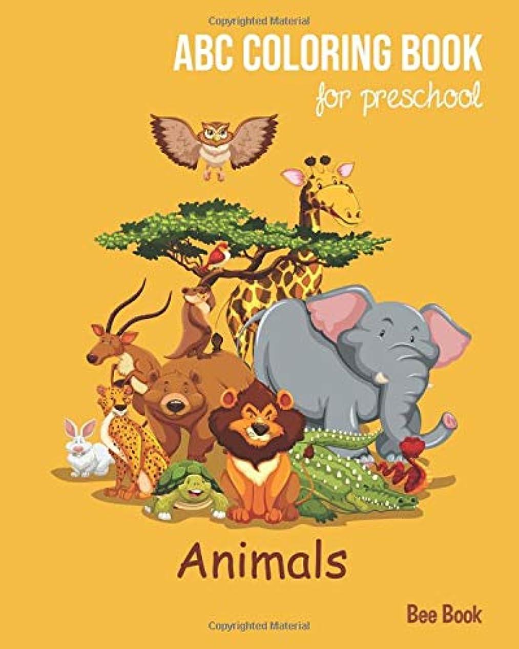 生物学無条件スポンサーAnimals ABC Coloring Book For Preschool: Toddlers And Kids. Fun Animals Coloring Books for Toddlers & Kids Ages 2-5 - Activity Book Teaches ABC, Letters & Words for Kindergarten & Preschool