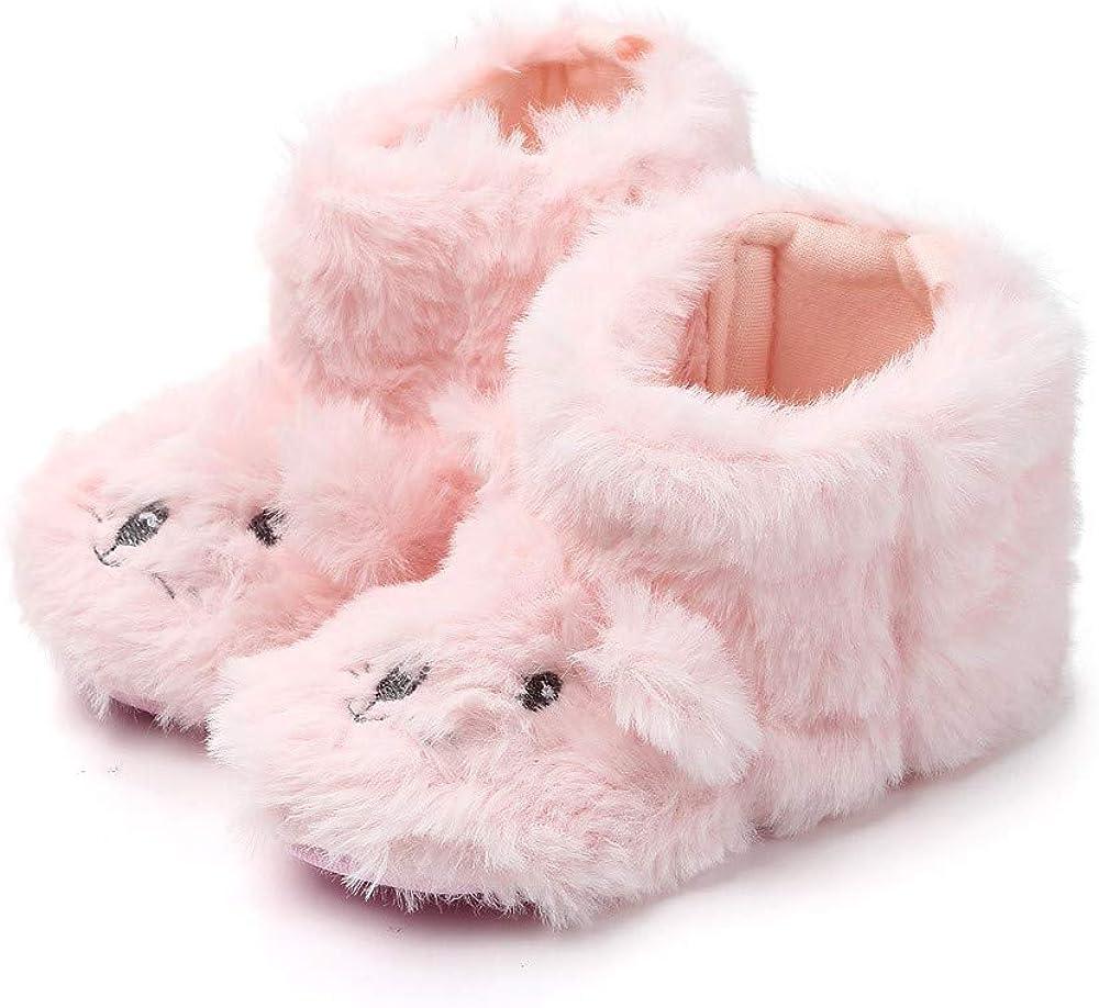 VEKDONE Cozy Fleece Booties with Non Skid Bottom