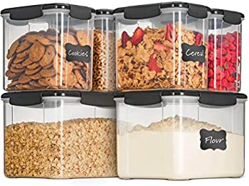 6-Piece Airtight Food Storage Containers With Lids