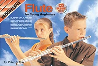 CP69235 - Progressive Flute Method for Young Beginners Book/CD (Progressive Young Beginners)