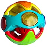 divine man Colorful Lovely Attractive Rattles Light Music Baby Fun Ball, with Non-Toxic
