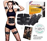 Electrostimulateur Musculaire-Un corps sculpté, une silhouette aux lignes parfaites-Hommes et...