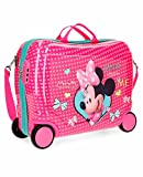 Disney Happy Helpers Bagage enfant, 50 cm, 34 liters, Rose (Rosa)