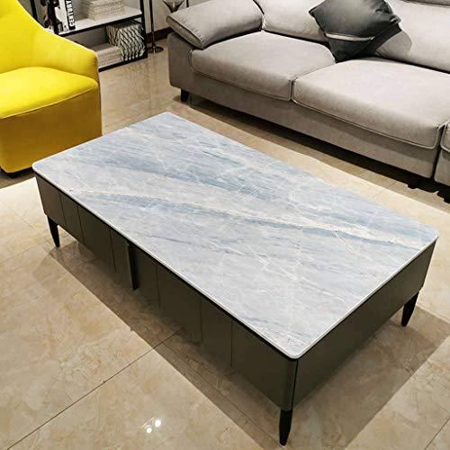 ILMF Rectangular TPU Mantel, Impermeable Resistente Al Aceite Duradera Mantel para Mesa Limpiable Cubierta para Mesa Adecuado para Restaurante Sala de Estar Cocina-L-70X120cm(28X47pulgada)