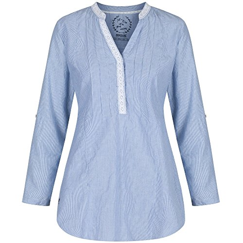 Regatta Womens/Ladies Magda Airy Coolweave Cotton Summer Tunic Shirt
