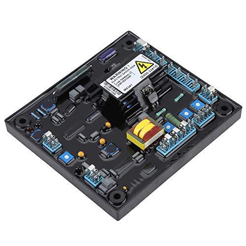Cerlingwee Controlador de Voltaje, 170-220V CA trifásico 3A Entrada Lam Protección Protección contra sobreexcitación Regulador automático de Voltaje para Grupo electrógeno para fábrica