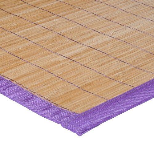 MonBeauTapis 165104 Bali Tapis Bambou Violet 230 x 160 cm