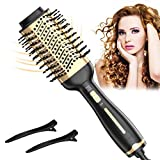 Hair Dryer Brush, One Step Hair Dryer & Volumizer & Styler for Straightening