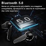 Immagine 1 homscam t3 cuffie bluetooth tws