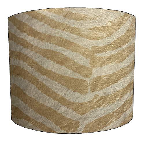 8 Inch gouden zebra print Ontwerp Lampenkap Voor een Plafond Licht