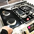 LG Stove Protector Liners - Stove Top Protector for LG Gas Ranges - Customized - Easy Cleaning Stove Liners for LG Model LRG3193ST