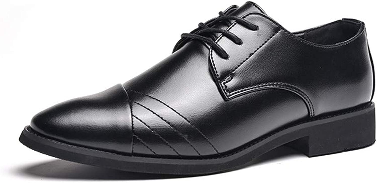 XHD - Klassiska Klassiska Klassiska skor Män's Simple Business Oxford Casual mode Upper Comfortable Soft Pointed Formal skor  ta upp till 70% rabatt
