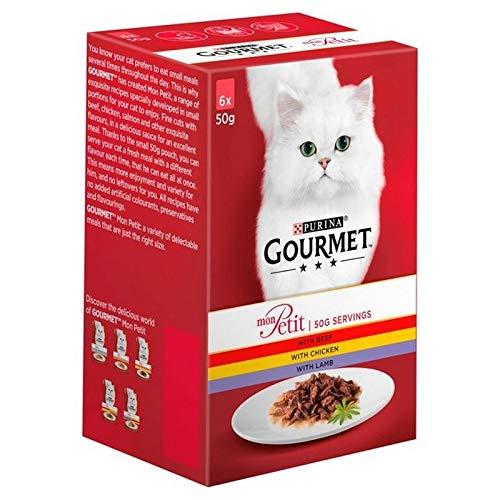 Gourmet 4X Mon Poulet Boeuf Petit Agneau Et 6 X 50 G
