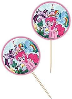 Wilton 2113-4700 24 Count My Little Pony Fun Pix