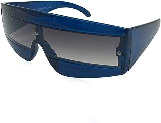 grinderPUNCH Oversize Techno Eye Shield Protection Sunglasses