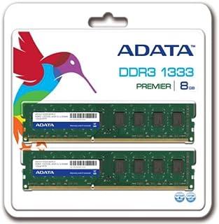 A-DATA 増設メモリ 240pin Unbuffered DDR3-1333 ( PC3-10600 ) 8GB ( 4GBx2 ) CL9 [14156] AD3U1333C4G9-2
