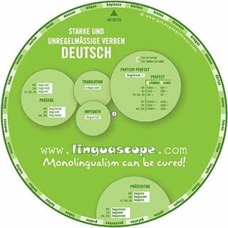 German Verb Wheel (Starke Und Unregelmassige Verben Deutsch)