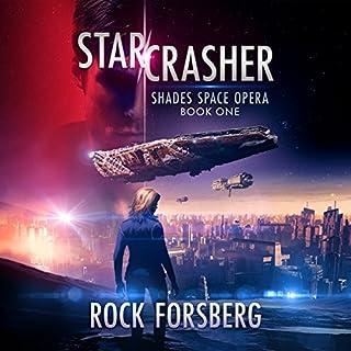 Starcrasher audiobook cover art