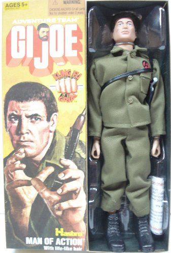 "GI Joe Adventure Team - Man of Action (with Kung Fu Grip) 12"" Reproduction Action Figure"