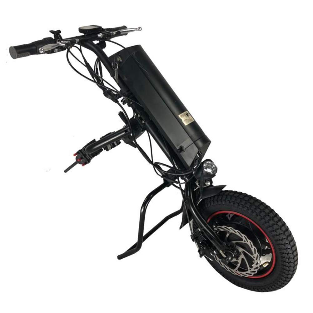 DGFTC-2 Silla De Ruedas Eléctrica Accesorio para Silla De Ruedas 36V 250W Bicicleta De Mano Kit De Conversión De Bricolaje para Discapacidad con Batería De Iones De Litio De 8.7AH: Amazon.es: Hogar