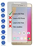 Todotumovil Protector de Pantalla Lenovo K6 Note 5.5 de Cristal Templado Vidrio 9H para movil