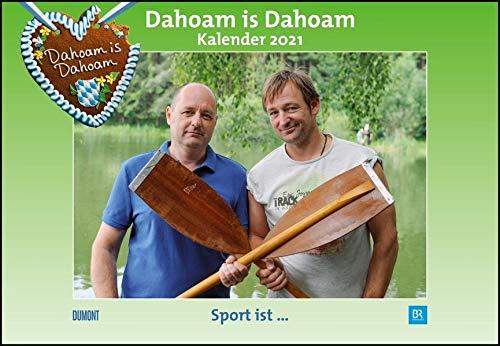 Dahoam is Dahoam 2021 - Broschürenkalender - Wandkalender - mit Jahresplaner - Format 42 x 29 cm